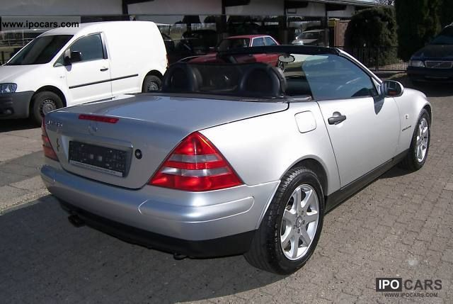 1998 mercedes benz slk 230 kompressor from 1 hand car photo and specs. Black Bedroom Furniture Sets. Home Design Ideas