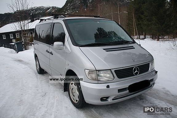 1999 Mercedes-Benz  Vito 114 Van / Minibus Used vehicle photo