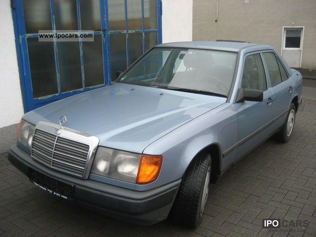 Mercedes 230 E : 1987 mercedes benz 230 e car photo and specs ~ Maxctalentgroup.com Avis de Voitures