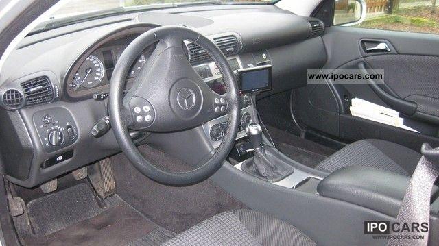 2005 mercedes-benz c 200 kompressor sports coupe - car photo and specs
