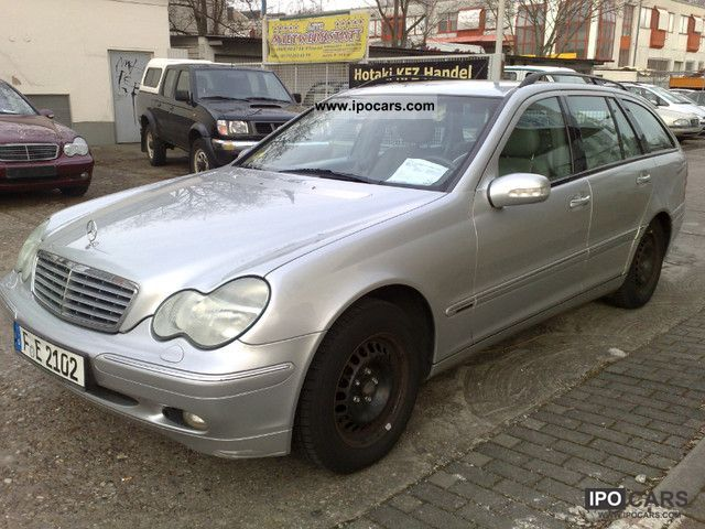2002 Mercedes-Benz  C 220 CDI Elegance Estate Car Used vehicle photo