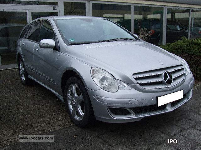 2006 mercedes benz r 320 cdi 4matic 7g tronic car photo and specs. Black Bedroom Furniture Sets. Home Design Ideas