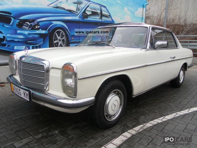 Mercedes-Benz  280C / 8 W114 automatic servo electric sunroof 1975 Vintage, Classic and Old Cars photo