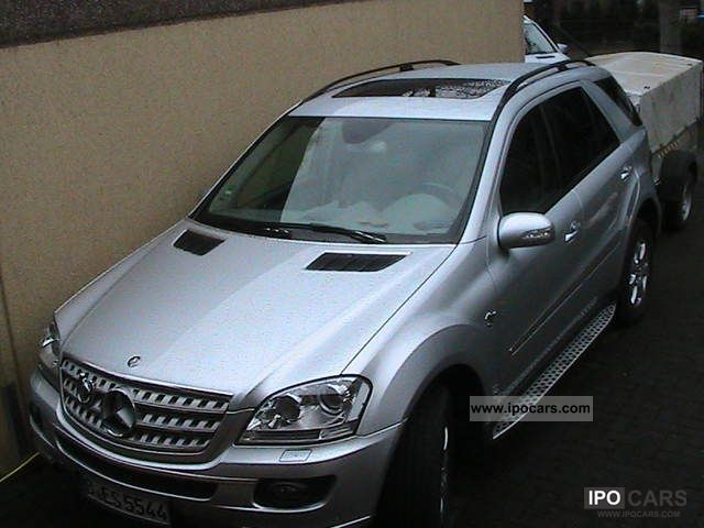 2006 mercedes benz ml 320 cdi 4matic 7g tronic dpf car photo and specs. Black Bedroom Furniture Sets. Home Design Ideas