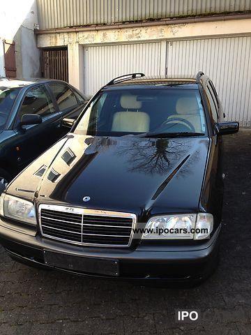 1998 mercedes benz c 240 t esprit car photo and specs for Mercedes benz c 240
