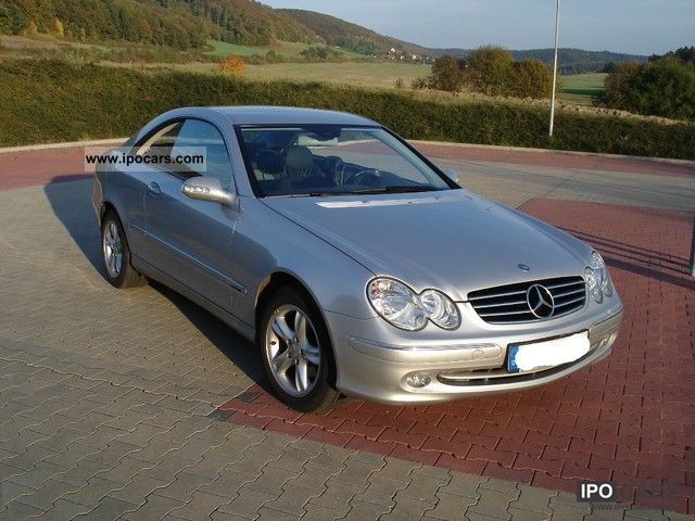 2004 mercedes benz clk 200 kompressor avantgarde coupe. Black Bedroom Furniture Sets. Home Design Ideas