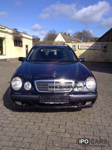 2000 Mercedes-Benz  E 200 Kompressor Classic Estate Car Used vehicle photo