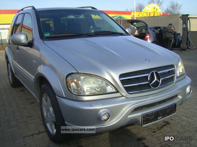2001 mercedes benz ml 55 amg comand navi xenon leather for Mercedes benz ml 55