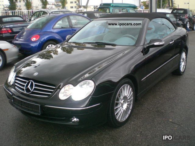 2004 mercedes benz clk 320 avantgarde 2 hand car photo and specs. Black Bedroom Furniture Sets. Home Design Ideas