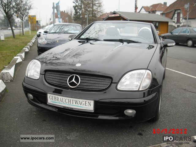 2001 Mercedes-Benz  SLK 200 Kompressor perfect condition! Cabrio / roadster Used vehicle photo