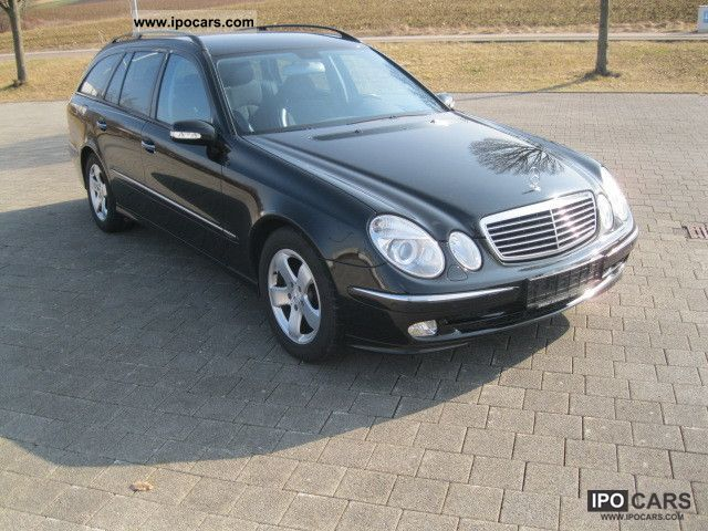 2003 mercedes benz e 220 cdi avantgarde 6 gang klimaautomatik car photo and specs. Black Bedroom Furniture Sets. Home Design Ideas