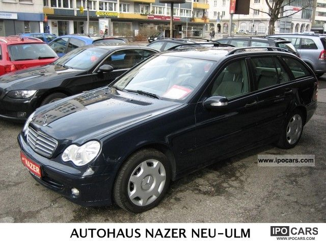 2004 mercedes benz c 220 cdi classic car photo and specs. Black Bedroom Furniture Sets. Home Design Ideas