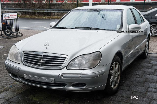 2001 mercedes benz s 430 car photo and specs