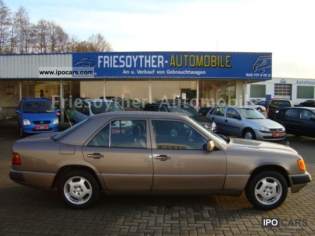 1990 Mercedes-Benz  200 E power, sunroof, El.Fensterh.TÜV / NEW Limousine Used vehicle photo