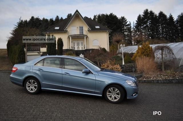 2009 Mercedes-Benz  E 350 CDI BlueEFFICIENCY DPF 7G-TRONIC Avantgard Limousine Used vehicle photo