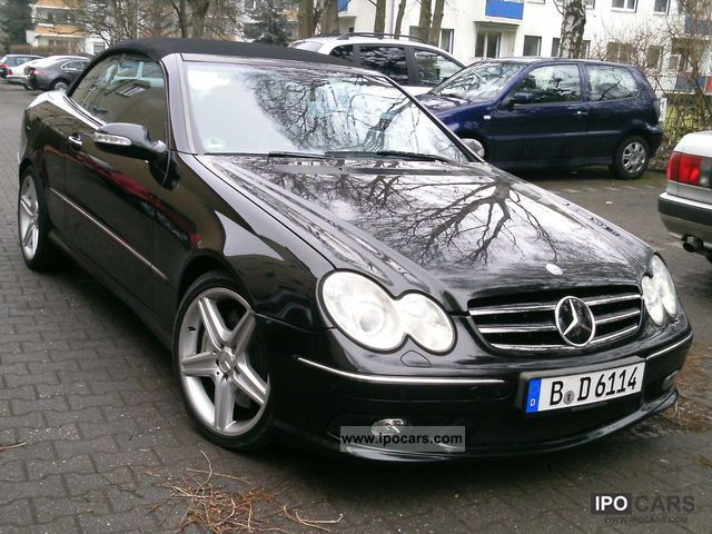 2004 mercedes benz clk 55 amg cabriolet car photo and specs. Black Bedroom Furniture Sets. Home Design Ideas