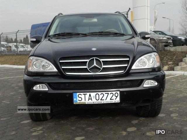 2002 mercedes benz ml 500 stan idealny serwisowany for Mercedes benz ml 2002