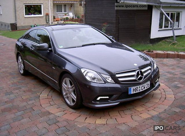 2009 mercedes benz e 350 cdi blueefficiency coupe dpf 7g tronic ava car photo and specs. Black Bedroom Furniture Sets. Home Design Ideas