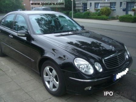 2004 mercedes benz e 220 cdi avantgarde auto dpf car photo and specs. Black Bedroom Furniture Sets. Home Design Ideas