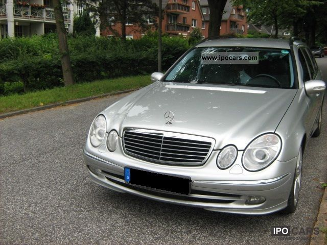 2005 mercedes benz e 280 cdi avantgarde sport car photo and specs. Black Bedroom Furniture Sets. Home Design Ideas