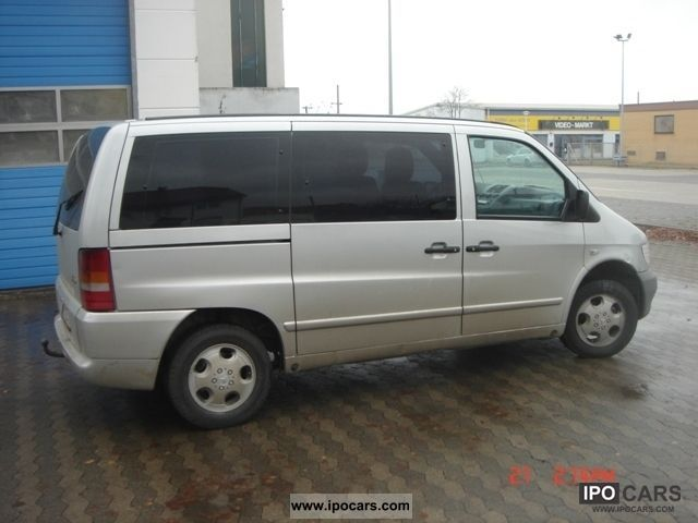 2002 mercedes benz vito 112 cdi automatic car photo and specs. Black Bedroom Furniture Sets. Home Design Ideas