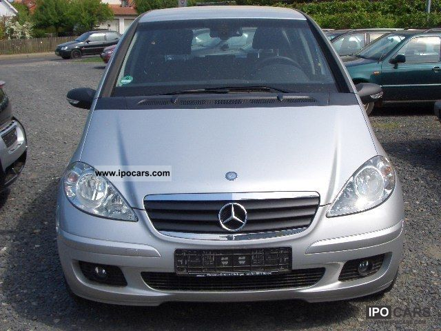 2004 mercedes benz a 150 classic air 4 5 door warranty car photo and specs. Black Bedroom Furniture Sets. Home Design Ideas