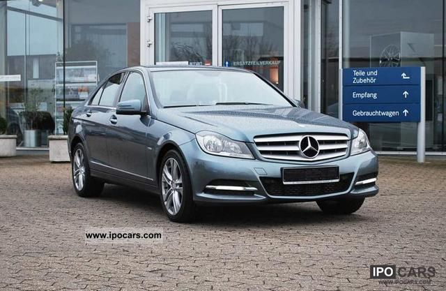 2011 mercedes benz c 180 cdi blueefficiency avantgarde for Mercedes benz employees