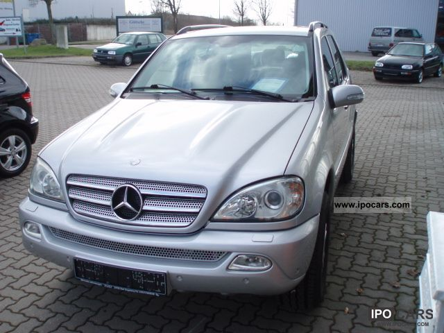 2005 mercedes benz m class ml 270 cdi final edition car photo and specs. Black Bedroom Furniture Sets. Home Design Ideas