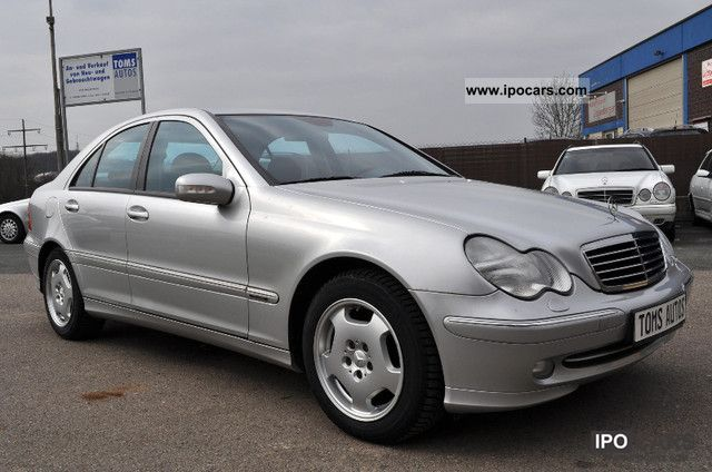 2001 mercedes benz c 220 cdi from 1 hand and xenon car photo and specs. Black Bedroom Furniture Sets. Home Design Ideas