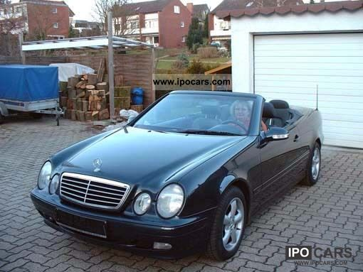 2000 mercedes benz clk 200 avantgarde car photo and specs. Black Bedroom Furniture Sets. Home Design Ideas