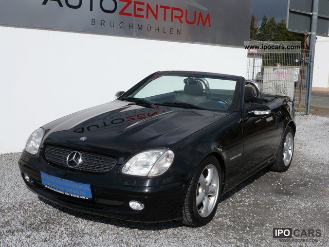 2003 mercedes benz slk 200 k xenon air car photo and specs. Black Bedroom Furniture Sets. Home Design Ideas