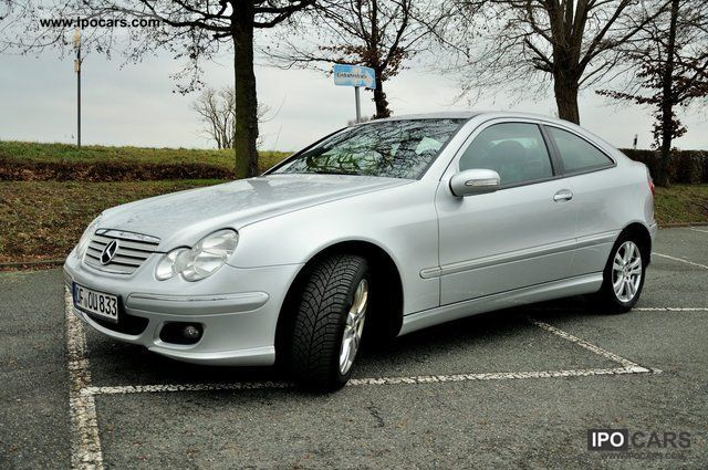 2006 mercedes benz c 220 cdi sports coupe dpf car photo. Black Bedroom Furniture Sets. Home Design Ideas