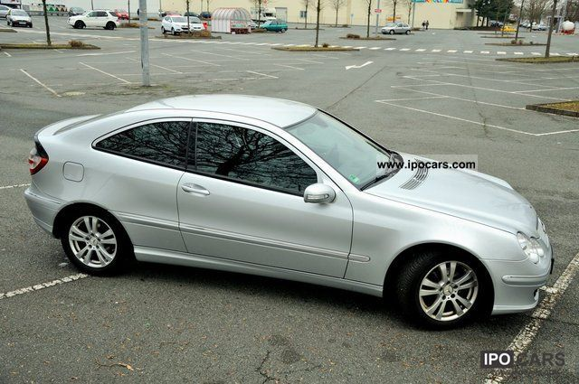 2006 mercedes benz c 220 cdi sports coupe dpf car photo and specs. Black Bedroom Furniture Sets. Home Design Ideas