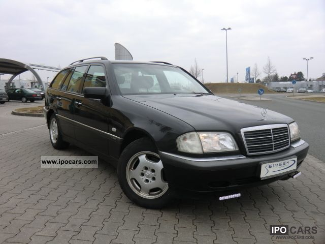 1997 mercedes benz c 180 t elegance air conditioning. Black Bedroom Furniture Sets. Home Design Ideas