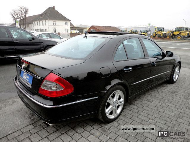 2008 mercedes benz e class e320 cdi avantgarde pano for Mercedes benz e 350 2008