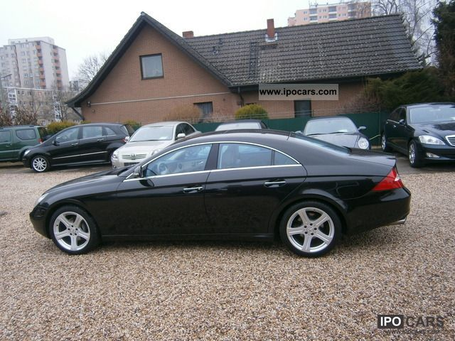 2006 mercedes benz cls 320 cdi airmatic aut climate led comand bixenon car photo and specs. Black Bedroom Furniture Sets. Home Design Ideas