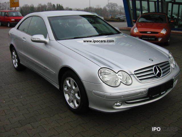 2002 mercedes benz clk 240 elegance car photo and specs for Mercedes benz clk 240