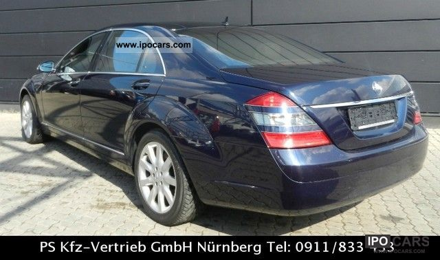2006 Mercedes Benz S 500 L 4matic Panoramic Distronic