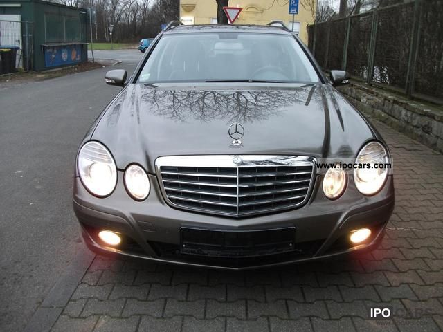 2007 mercedes benz e 220 cdi classic auto dpf car photo and specs. Black Bedroom Furniture Sets. Home Design Ideas