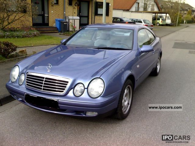 1999 mercedes benz clk 230 kompressor car photo and specs. Black Bedroom Furniture Sets. Home Design Ideas