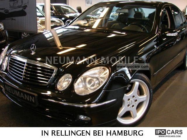 2004 Mercedes Benz E 500 Avantgarde AMG 7G TRONIC Wheelset Limousine
