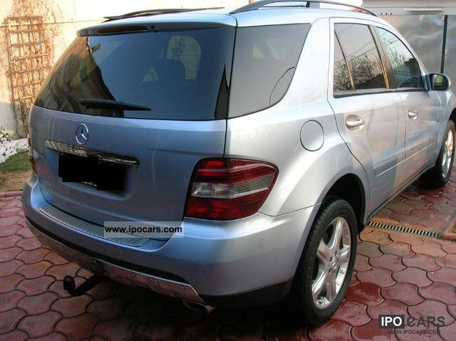 2007 mercedes benz ml 280 cdi 4matic 7g tronic sportpaket voll car photo and specs. Black Bedroom Furniture Sets. Home Design Ideas