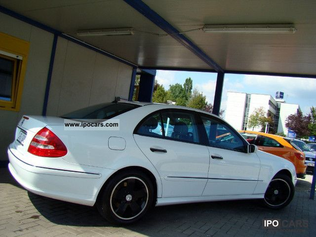 Mercedes-Benz  E 200 com \ 2003 Liquefied Petroleum Gas Cars (LPG, GPL, propane) photo