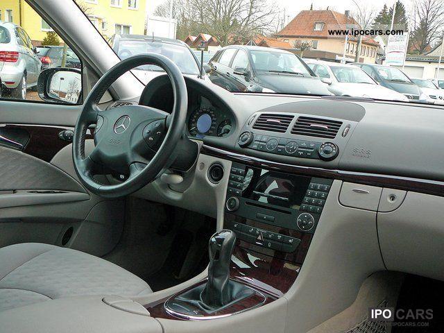 2005 Mercedes Benz E 220 Cdi Classic Car Photo And Specs