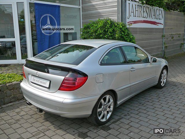 2001 mercedes benz c 180 sports coupe car photo and specs. Black Bedroom Furniture Sets. Home Design Ideas