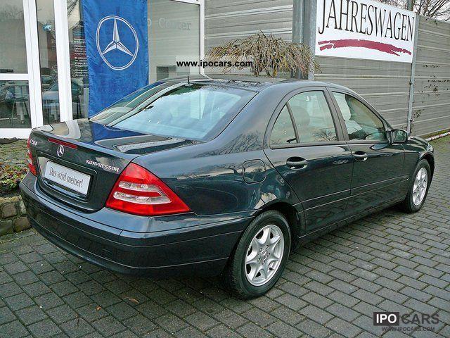 2003 Mercedes Benz C 200 Kompressor Car Photo And Specs