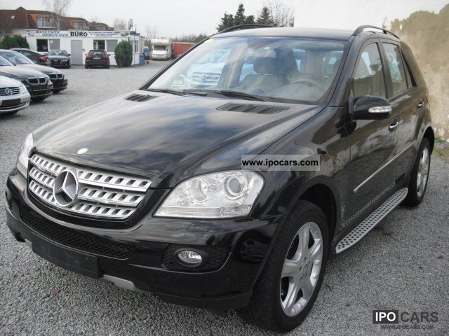 2008 mercedes benz ml 320 cdi 4matic sport dpf car photo. Black Bedroom Furniture Sets. Home Design Ideas