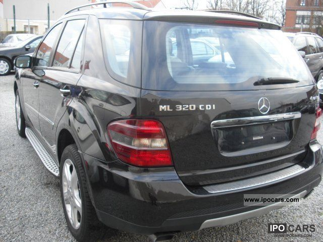 2008 mercedes benz ml 320 cdi 4matic sport dpf car photo and specs. Black Bedroom Furniture Sets. Home Design Ideas