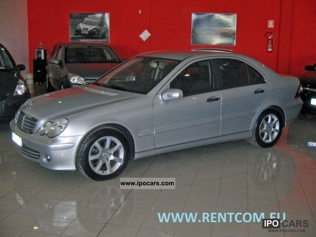 2006 mercedes benz c 220 cdi classic cat car photo and specs. Black Bedroom Furniture Sets. Home Design Ideas