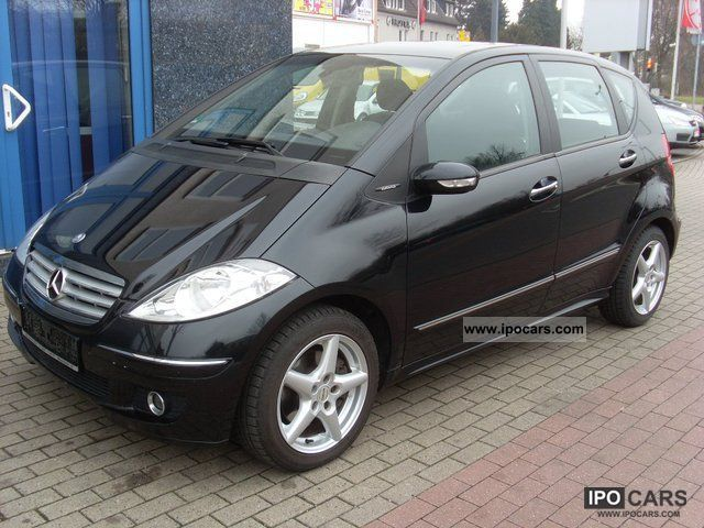 2004 Mercedes Benz A 200 Cdi Elegance With Slatted Roof